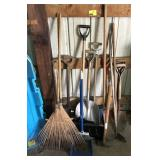 Large Lot Of Yard Tools and More