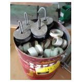 Lot of items for electrical fencing
