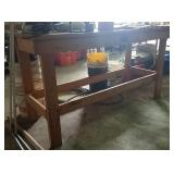 Tool bench, contents not included