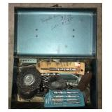 Tool Box With Drill Bits and More