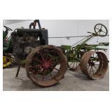 Antique Centaur 2-G Tractor w/Le Roi RF2 Engine