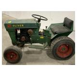 Custom Murray tractor. Done in Oliver colors