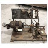 Jos. Weidenhoff magneto testing machine