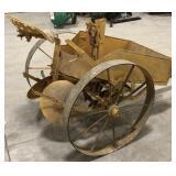 Antique Single Row Horse Drawn Potato Planter