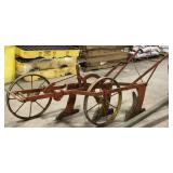 Antique Horse drawn 3 bottom plow
