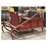 Antique Horse Drawn Wooden sleigh