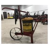 Cen-Pe-Co. Super Refined Lubricants. Grease Cart