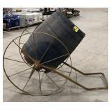 Antique Horse Drawn Barrel butter Churn Cart