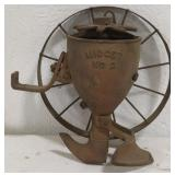 Antique Midget NO.2 cast iron seed planter