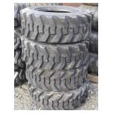 Skid-steer tire without rim 10-16.5 N.H.S