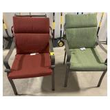 Two Patio Lawn Chairs with Cushion