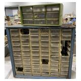 2 Small Parts Organizer For Screws, Bolts/Nuts,