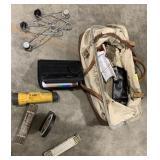 Miss Tools Ruler Protractor Flashlight