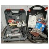 ARROW ET200 nail gun and Craftsman Mouse sander,