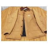 Carhartt Insulated Coat, size 50 tall