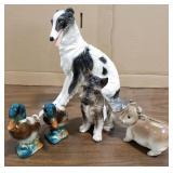 Ceramic Painted Animals includes: