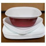 Lot Includes: Corningware 1.5qt. Casserole Dish,