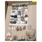 Lot of Specimens from the desert, Stone