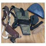 Lot of holsters, includes Realtree/bagmaster,