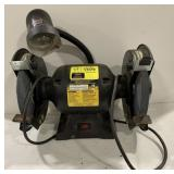 """Ohio Forge 8"""" Bench Grinder with Light Model"""