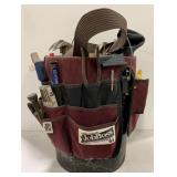 5 Gallon Tool Bucket Carrier with Tools and Belt