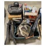 Pallet Includes Step Ladder, Radio and Records,
