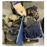 Pallet Includes Boots, Targets and Bows,
