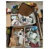 Large lot of household items. Items for crafting,