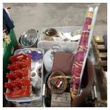 Miscellaneous lot of items, home and kitchen
