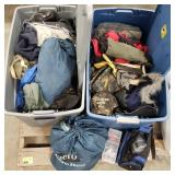 Hunting/Camping Lot Includes: Warm Hunting Gear,
