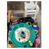 Young Child Lot Includes: Plastic Tea Set,