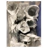 Lot of miscellaneous glassware and stemware,