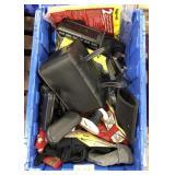 Lot of miscellaneous shop equipment, camera,