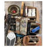 Miscellaneous lot of household and garden items