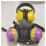 LD Ear Protection and Honeywell Medium 5500-30M
