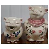 Shawnee USA pottery. Smiley pig ceramic cookie