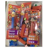 Lot Disney Pez Candy