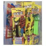 Lot DC Marvel Pez Candy