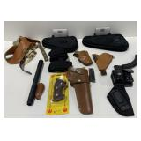 Lot Handgun Cases and Holsters