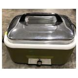 Sears Roaster with lid.