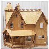 Home Assembled Wooden Dollhouse