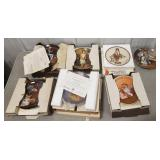 Lot of Norman Rockwell Collectors Plates
