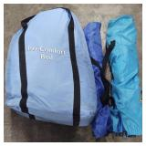 Lot of Iso-Comfort Air Bed and two Foldable Lawn
