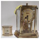 Lot of Kundo Pendulum Mantle Clock and Small