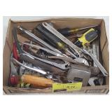 Box Lot of Misc Hand Tools