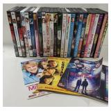 Large lot of DVD