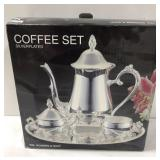 Wm. Rogers & Son Silverplated Coffee Set. NOS