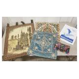 Lot of Tapestries, Pillowcases, and Bags