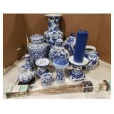 Lot Includes Ceramic Painted Teapots, Ceramic