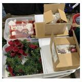 Pallet Includes Christmas Tree, Wreath And